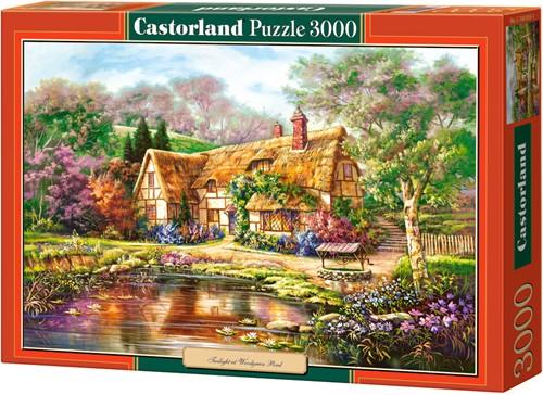Twilight at Woodgreen Pond Puzzel (3000 stukjes)