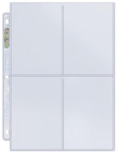 Transparante Pagina Voor 4 Kaarten (100 stuks)-2