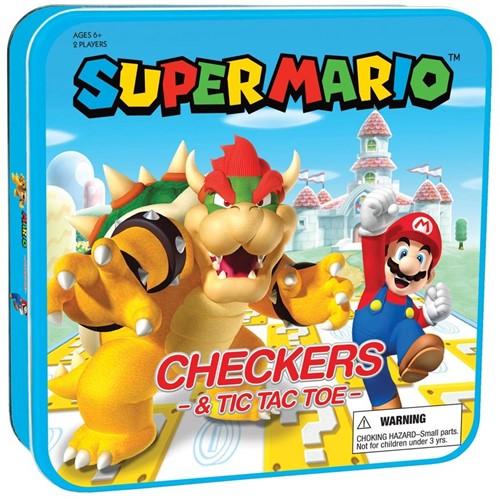 Super Mario - Checkers/Tic-Tac-Toe
