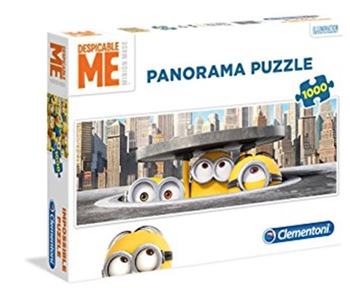 Despicable Me - Panorama Puzzel (1000 stukjes)-1