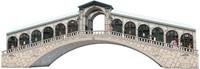 3D puzzel - Ponte de Rialto Venetie (216 stukjes)-2