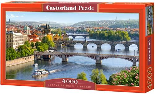 Vitava bridges in Prague (4000 pcs.)