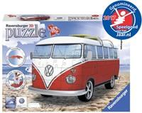 Volkswagen Bus 3D Puzzel (162 stukjes)-1