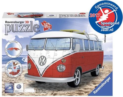3D Puzzel - Volkswagen Bus (162 stukjes)