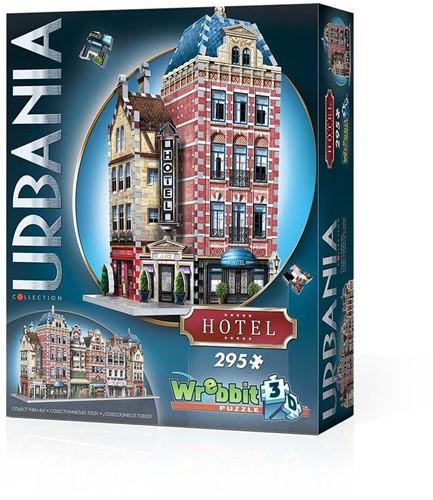 Wrebbit 3D Puzzle - Urbania Hotel (295)-1