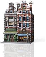 Wrebbit 3D Puzzel - Urbania Café (285 stukjes)-2