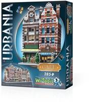Wrebbit 3D Puzzel - Urbania Café (285 stukjes)-1