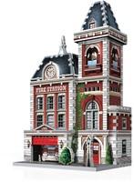Wrebbit 3D Puzzel - Urbania Fire Station (285 stukjes)-2