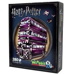 Wrebbit 3D Puzzel - Harry Potter The Knight Bus (280 stukjes)