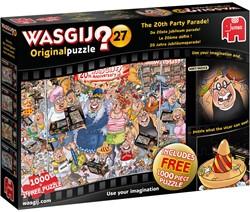 Wasgij Original 27 - De 20ste Jubileum Parade Puzzel (2 x 1000 stukjes)