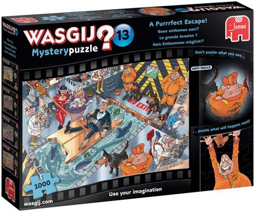 Wasgij Mystery Puzzel 13 - Geen Ontkomen Aan! (1000 stukjes)-1