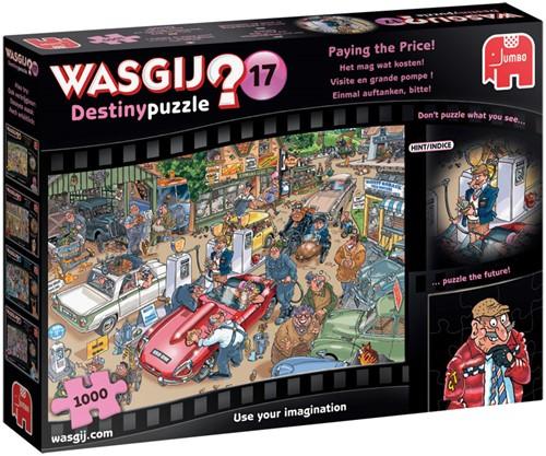 Wasgij Destiny Puzzel 17 - Het mag wat kosten! (1000 stukjes)-1
