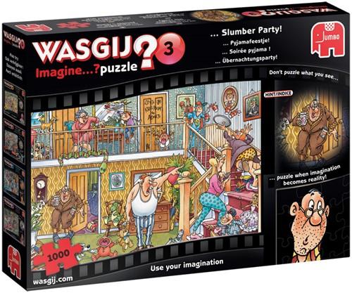 Wasgij Imagine Puzzel 3 - Pyjamafeestje! (1000 stukjes)