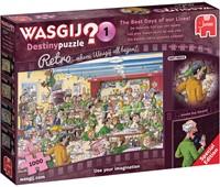 Wasgij Retro Destiny Puzzel 1 - De Mooiste Tijd van ons Leven (1000 stukjes)-1