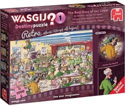 Wasgij Retro Destiny Puzzel 1 - De Mooiste Tijd van ons Leven (1000 stukjes)