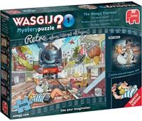 Wasgij Retro Mystery Puzzel 1 - Het Spoort Bijster (1000 stukjes)