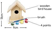 Schilder Je Eigen Vogelhuis Middel-3