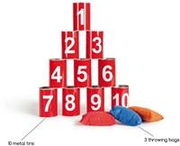 Blikgooien - Rood met Cijfers-3
