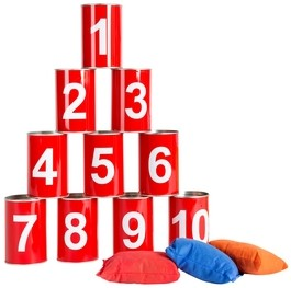 Blikgooien - Rood met Cijfers-1