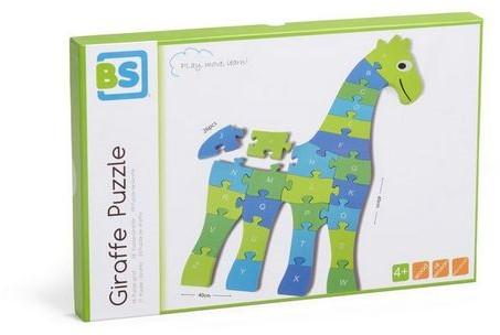 Giraffe Puzzel Groot-3