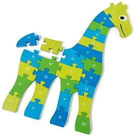Giraffe Puzzel Groot