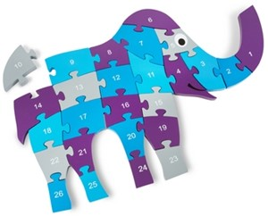 Grote olifant puzzel