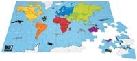 Wereldpuzzel Groot (Hout)-1