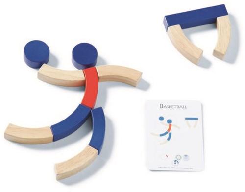 Sport Blokken - Hout-2