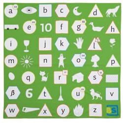 Alfabet Picknick Speelkleed