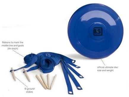 Wedstrijd Frisbee Set