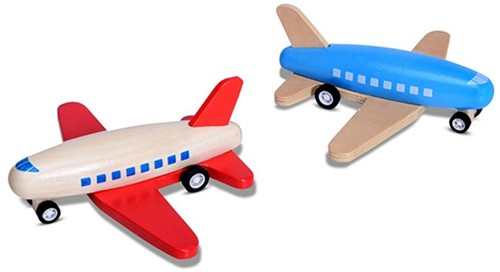 Race Plane (Rood)-1