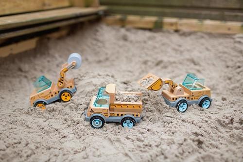 Construction Car - Bulldozer-2