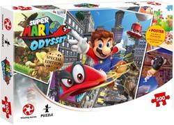 Super Mario Odyssey World Traveler Puzzel (500 stukjes)