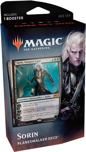 Magic the Gathering - Core 2020 Planeswalker Deck Sorin