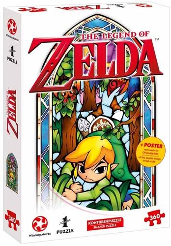 The Legend of Zelda - Link Boomerang Puzzel (360 stukjes)