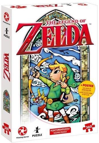 The Legend of Zelda - Link Hero's Bow Puzzel (360 stukjes)