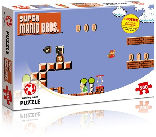 Super Mario Bros - High Jumper Puzzel (500 stukjes)