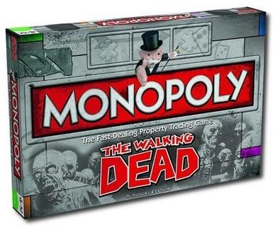 Monopoly - The Walking Dead (Engels)