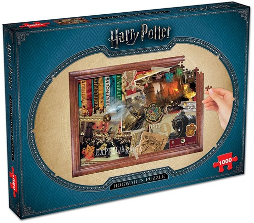 Harry Potter Hogwarts Collectors Puzzel (1000 stukjes)