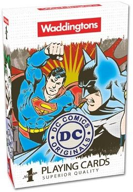 Speelkaarten - DC Comics Superheroes Retro