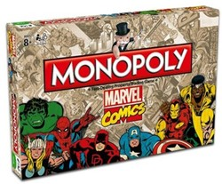 Monopoly Marvel Comics Retro
