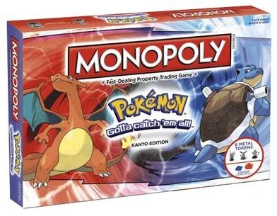 Monopoly - Pokemon Kanto (Engels)-1
