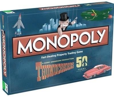Monopoly - Thunderbirds Retro (Engels)-1