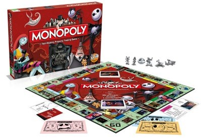 Monopoly - Nightmare Before Christmas-2