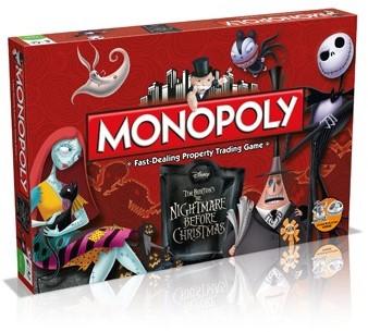 Monopoly - Nightmare Before Christmas-1
