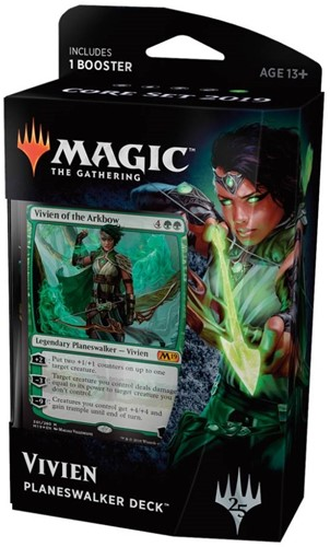 Magic The Gathering - Core 2019 Planeswalker Deck Vivien