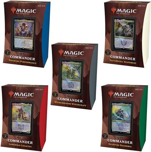 Magic The Gathering - Strixhaven School of Mages Commander Deck