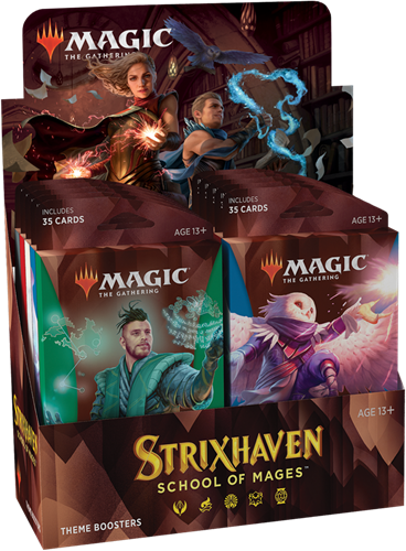 Magic The Gathering - Strixhaven School of Mages Theme Boosterpack