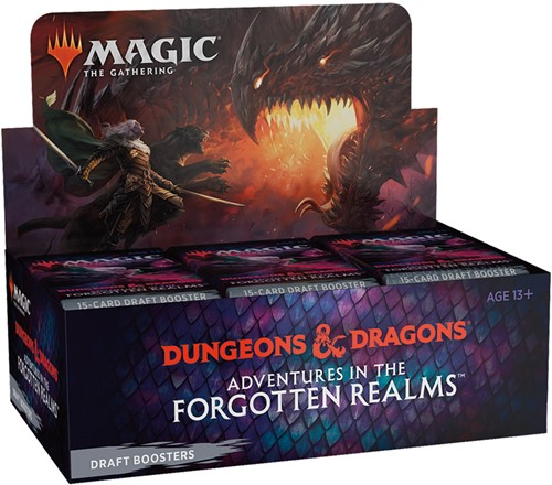Magic The Gathering - Adventures in the Forgotten Realms Draft Boosterbox