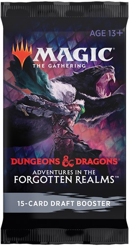 Magic The Gathering - Adventures in the Forgotten Realms Draft Boosterpack